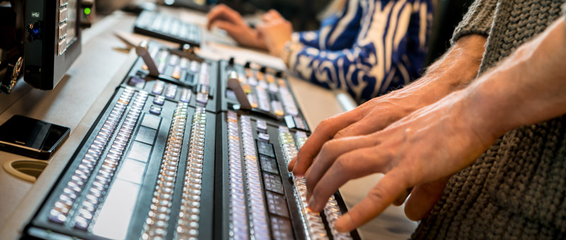 Cutting edge training for future broadcast professionals