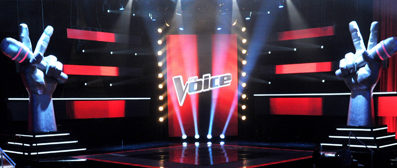 Multicam post-production behind The Voice UK