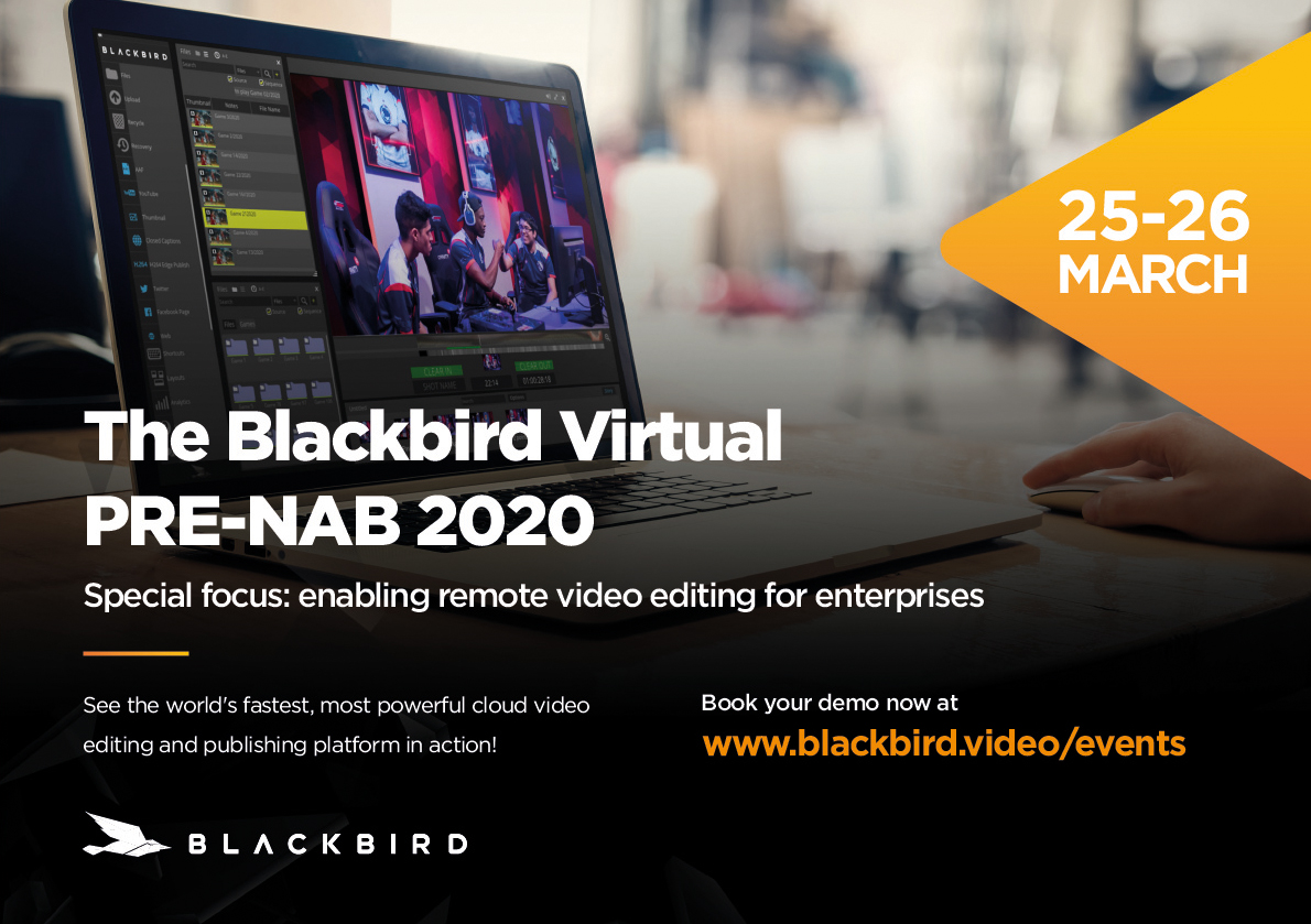 Blackbird NAB flyer